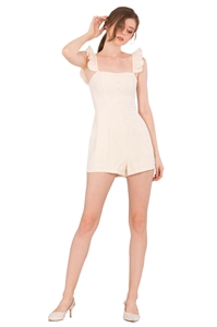 Picture of Dohanic Romper (Cream)