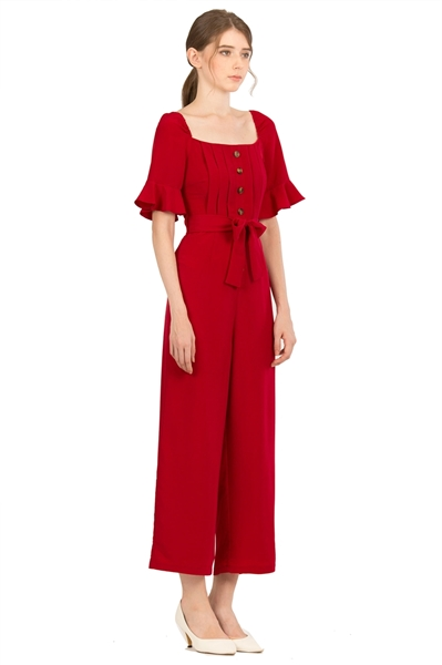 Picture of Danafiriol Jumpsuit (Maroon)