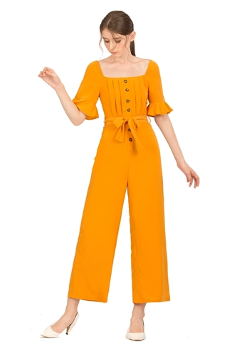 Picture of Danafiriol Jumpsuit (Mustard)