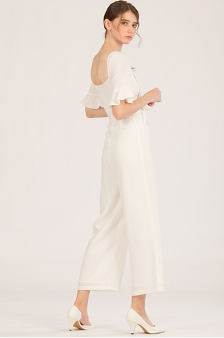 Show details for Danafiriol Jumpsuit (White)