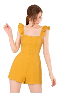 Picture of Dohanic Romper (Mustard)