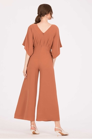Show details for Darihary Jumpsuit (Brown)
