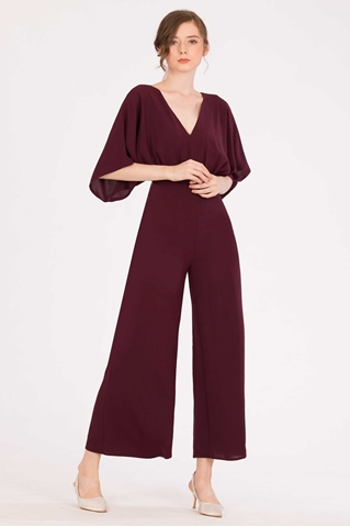 Show details for Darihary Jumpsuit (Burgundy)