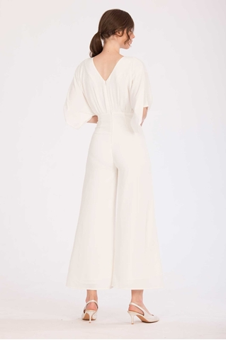 Show details for Darihary Jumpsuit (White)