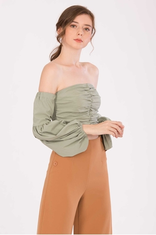 Show details for Dicheny Top (Pale Green)