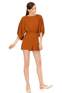 Picture of Demietiol Romper (Rust Orange)