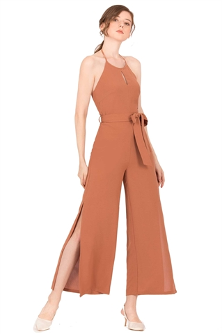 Picture of Doliverioz Jumpsuit (Brown)