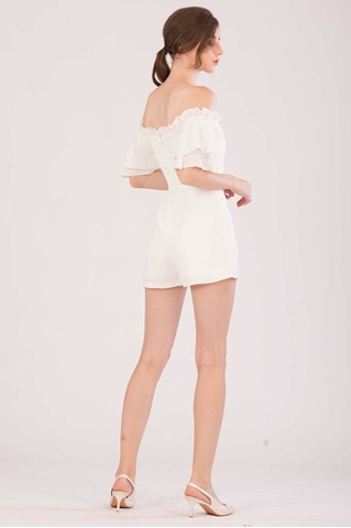 Show details for Dofoterla Romper (White)