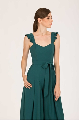 Show details for Dotiakira Jumpsuit (Green)