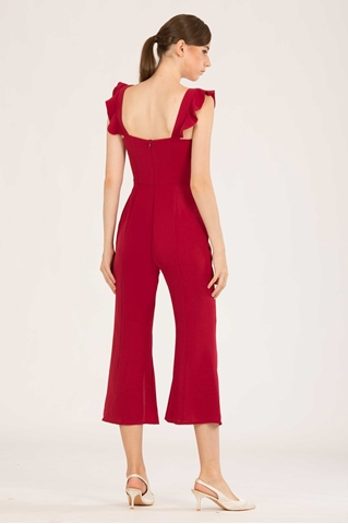Show details for Dufergua Jumpsuit (Red)