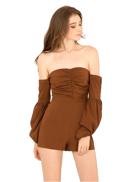 Picture of Dolifit Romper (Dark Brown)