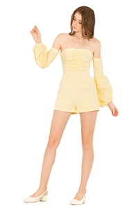 Picture of Dolifit Romper (Powder Yellow)