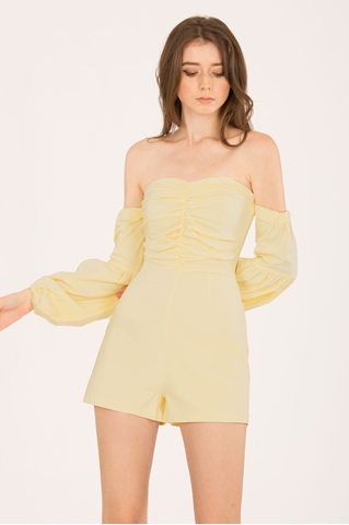 Show details for Dolifit Romper (Powder Yellow)