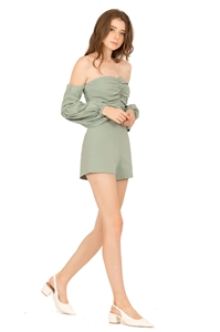 Picture of Dolifit Romper (Sage Green)