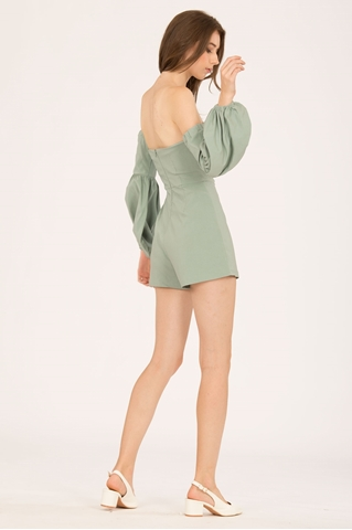 Show details for Dolifit Romper (Sage Green)