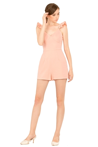 Picture of Darofiwa Romper (Peach)