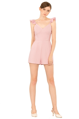 Picture of Darofiwa Romper (Powder Pink)