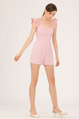 Show details for Darofiwa Romper (Powder Pink)