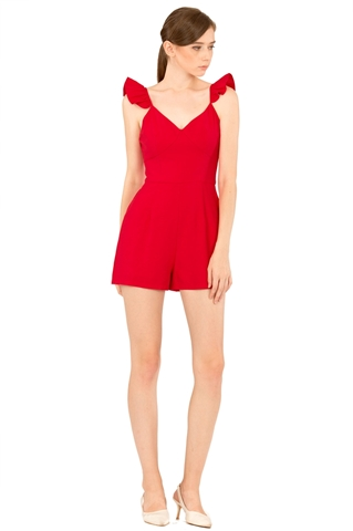 Picture of Darofiwa Romper (Red)