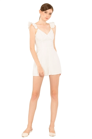 Picture of Darofiwa Romper (White)
