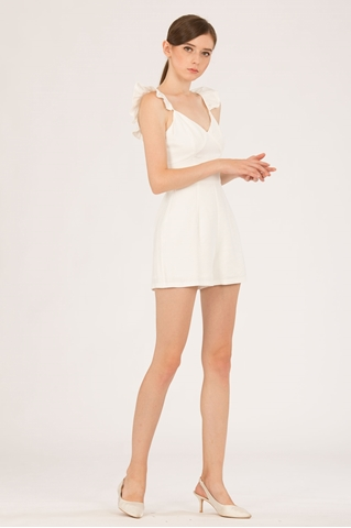 Show details for Darofiwa Romper (White)