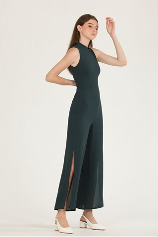 Show details for Dindandrea Jumpsuit (Dark Green)