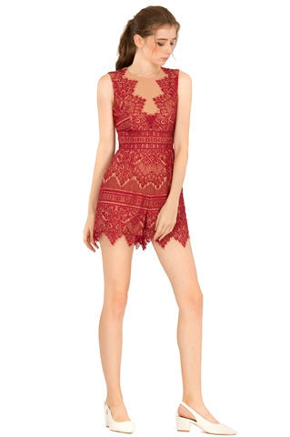 Picture of Dariehong Romper (Red)