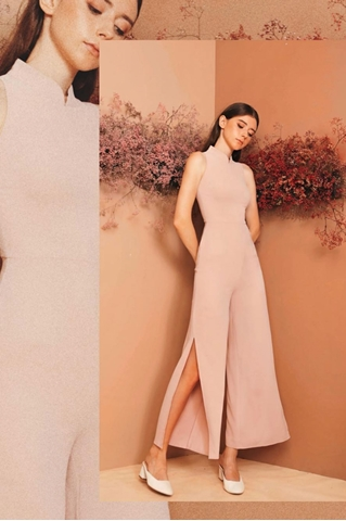Show details for Dindandrea Jumpsuit (Pale Pink)