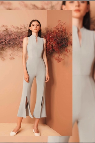 Show details for Diufiern Jumpsuit (Pale Blue)