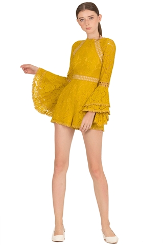Picture of Dejianjing Romper (Sunflower Yellow)