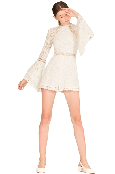 Picture of Dejianjing Romper (White)