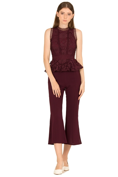 Picture of Dimingzhu Jumpsuit (Burgundy)