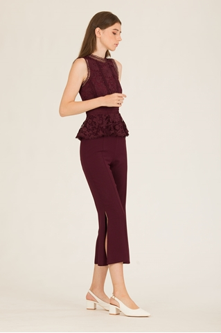 Show details for Dimingzhu Jumpsuit (Burgundy)