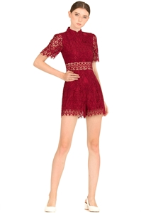 Picture of Daxiaolian Romper (Maroon)