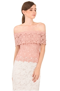 Picture of Duxca Top (Pale Pink)