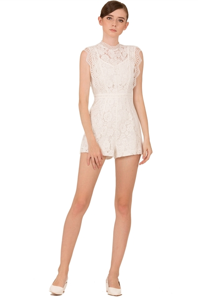 Picture of Dibolia Romper (White)