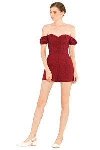 Picture of Derijx Romper (Maroon)