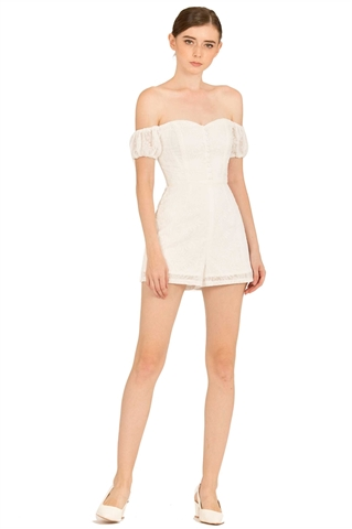 Picture of Derijx Romper (White)