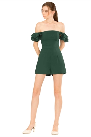 Picture of Darumo Romper (Green)