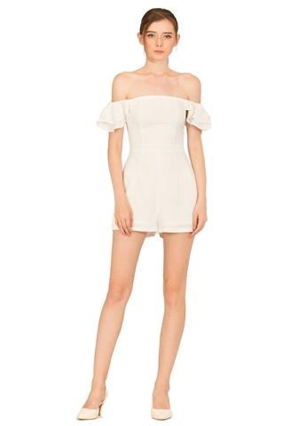 Picture of Darumo Romper (White)