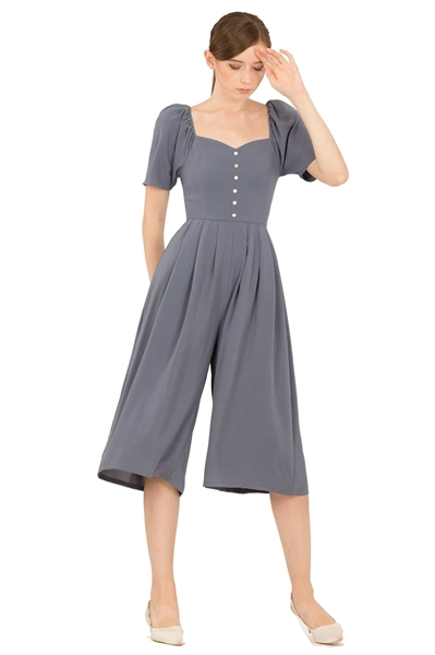 Picture of Dabefuy Jumpsuit Cullotes (Denim Blue)