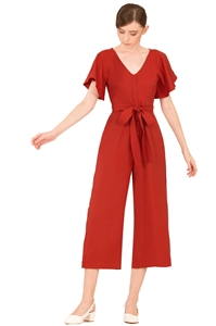 Picture of Dakamiar Jumpsuit (Tangerine)