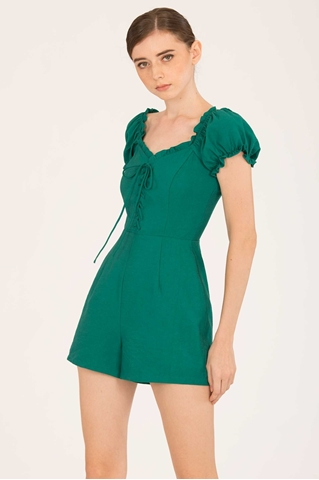 Show details for Detiamise Romper (Green)