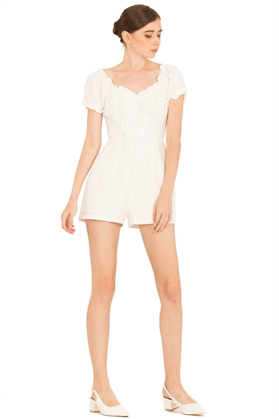 Picture of Detiamise Romper (White)