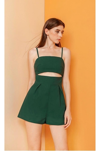 Show details for Derusty Romper (Green)