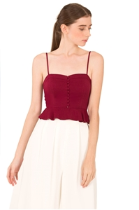 Picture of Danorusta Top (Maroon)