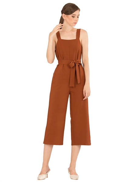 Picture of Demuxie Jumpsuit (Brown)