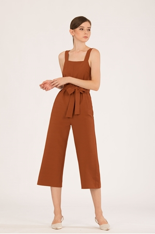 Show details for Demuxie Jumpsuit (Brown)