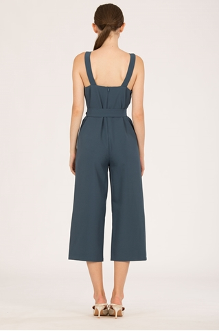 Show details for Demuxie Jumpsuit (Steel Blue)