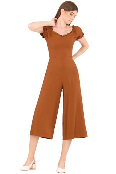 Picture of Dohafablar Jumpsuit (Brown)